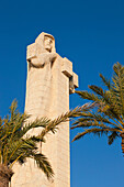 'Columbus Monument Sculpted By Gertrude V. Whitney At Punta Del Sebo Near Huelva; Huelva, Province Andalusia, Spain'