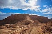 'Trail at masada;Israel'