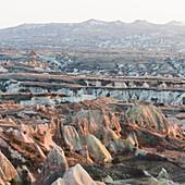 'Rugged landscape;Aktepe nevshir turkey'