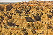'The formations of badlands national park; south dakota united states of america'