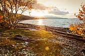'Sunrise over the northern shores of lake superior;Thunder bay, ontario, canada'