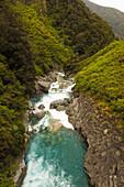 'River through Arthurs Pass; Canterbury, New Zealand'