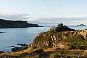 'Landscape along the atlantic coast; Twillingate, Newfoundland and Labrador, Canada'