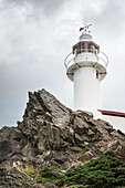 'Lobster Cove Head Lighthouse at Gros Morne National Park; Newfoundland and Labrador, Canada'