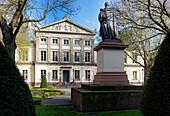 Wilhelm Square, Georg August University Goettingen, Lower Saxony, Germany