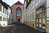 Petrosilien Street, Goettingen, Lower Saxony, Germany
