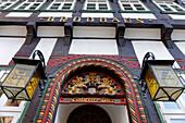 Old Brewery, Market, Einbeck, Lower Saxony, Germany