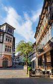 Market Street, Einbeck, Lower Saxony, Germany
