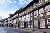 Tiedex Street, Einbeck, Lower Saxony, Germany