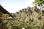 Mountain village, Santiago, Cape Verde