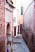 Alley in the medina, Marrakech, Morocco