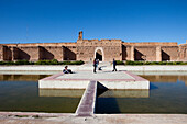 Badi Palace with the Saadit graves, Marrakech, Morocco