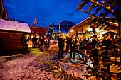 Christmas market, Murau, Styria, Austria