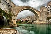 The Stari Most, Mostar, Bosnia and Herzegovina
