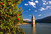 Lake Reschen, South Tyrol, Italy