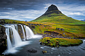 wonderful landscapes in the Peninsula Snaefellsnes in Iceland