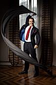Tailor Alessandro Martorana from Turin, Italy, is a maker of fine Italian suits.