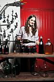 Christina Turley of Turley Wine Cellars in St. Helena,  California.