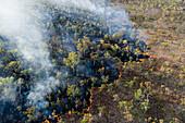 Prescribed burn, Fish River protected area, Australia