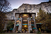 YOSEMITE NATIONAL PARK, CA - NOVEMBER 4, 2006: Awahnee Lodge located in Yosemite Valley. photo by Ian Shive/Aurora