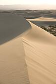 Sand dunes, Death Valley, California.