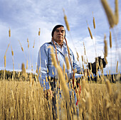 Curly Bear Wagner is a renowned cultural leader of the Blackfeet tribe in northern Montana.