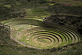 Inca agricultural research station, Moray, Peru, South America