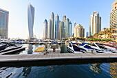 Cayan Tower, Dubai Marina, Dubai, United Arab Emirates, Middle East