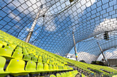 Roof of the Olympic stadium, Munich, Upper Bavaria, Bavaria, Germany