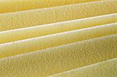 Sheets of lasagna, full frame, close-up