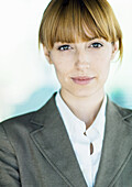 Businesswoman looking at camera, portrait