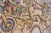 Painting, museum Puri Lukisan, Ubud, Gianyar, Bali, Indonesia