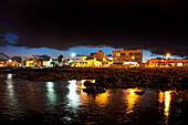 Dark clouds above Corralejo, Fuerteventura, Canary Islands, Spain