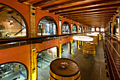 High-Tech Kellerei, Bodega Stratvs, Weinanbaugebiet La Geria, Lanzarote, Kanarische Inseln, Spanien