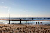 Nordstrand beach, Norderney, Ostfriesland, Lower Saxony, Germany