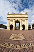 Brandenburg Gate, Luisenplatz, Potsdam, Brandenburg, Germany, Europe