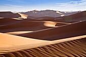 Sanddunes, Erg Murzuk, libyan desert, Libya, Sahara, North Africa