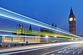 Big Ben and House of Parlament at Westminster Bridge London, Great Britain.