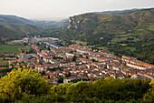 the touristic village of Ezcaray La Rioja