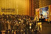 India, Uttar Pradesh, Varanasi, Dev Deepawali festival, Ramayana performance.
