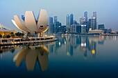 Marina Bay, Singapore.
