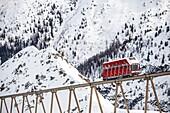Olympia Express at Axamer Lizum, ski station at Innsbruck, Tyrol, Austria, Europe.