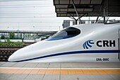 High Speed Train CRH2 modelled after the Japanese shinkansen in China.