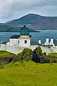 Clare Island Lighthouse, Clare Island, County Mayo, Ireland.