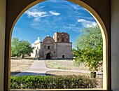 Mission Tumacácori, south of Tucson, is an historic Spanish colonial mission that has been preserved, but not restored, providing a unique perspective on the colonial era.