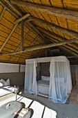 Bedroom, Little Kulala, Namib Desert, Namibia, Africa.