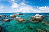 Caribbean, British Virgin Islands, Virgin Gorda, The Baths, Rocky Ocean.