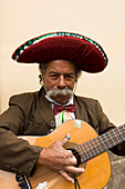 Mexico, Guanajuato, City Of Guanajuato, Mexican Troubadour.