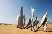 D-Day Memorial On Omaha Beach, Normandy, France