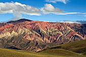 Serrania Del Hornacal Mountain Range, Jujuy Argentina